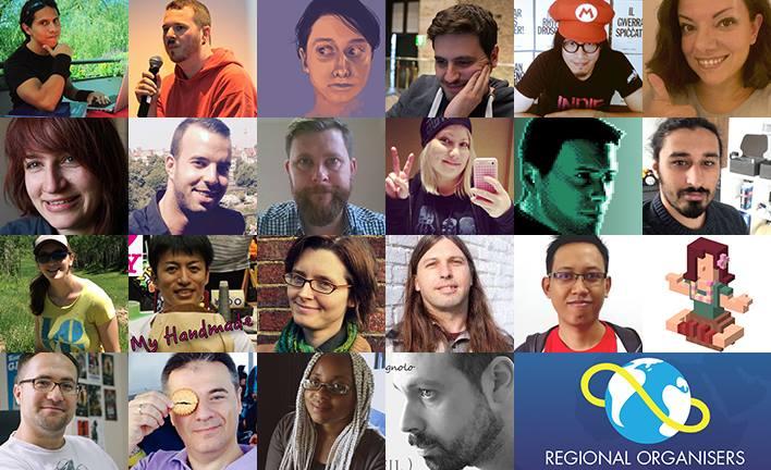 Regional Organisers Global Game Jam 2017